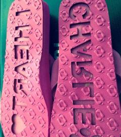 custom flip flops gift